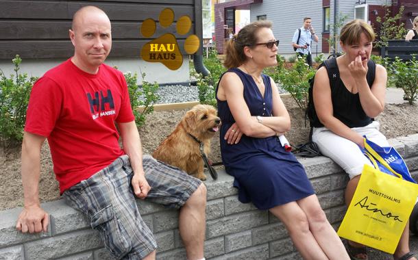vieraita ja koiravieraita