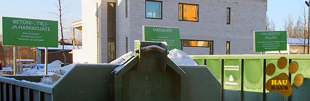 jäteastioita