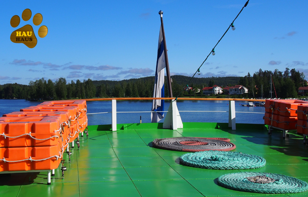 Rhea-laivan kantta